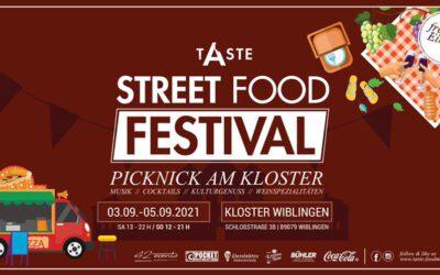 03.09.2021 – 05.09.2021 Taste Wein & Street-Food Fest Kloster Wiblingen